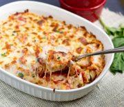 Τορτελίνια με σάλτσα ντομάτας και τυρί στο φούρνο (Video)