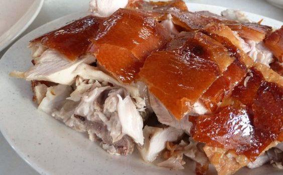 Γουρουνόπουλο ψητό στο φούρνο με τραγανή πέτσα