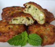 Κολοκυθοκεφτέδες αφράτοι με τυρί φέτα