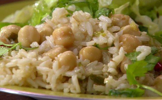 Ρεβύθια με ρύζι