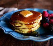 Αφράτα Pancakes με γιαούρτι σε 15 λεπτά