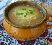 Σούπα λαχανικών νηστίσιμη