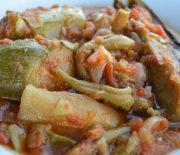 Τουρλού λαχανικών στη κατσαρόλα