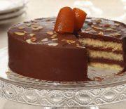 Τούρτα κέικ σοκολάτας νηστίσιμη