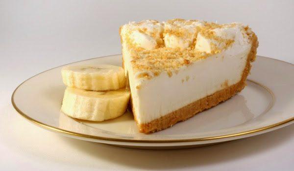 Cheesecake με μπανάνες