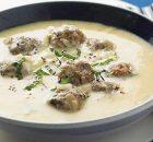 Γιουβαρλάκια σούπα αυγολέμονο