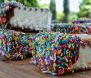 Παγωτό σάντουιτς με 3 υλικά (Video)