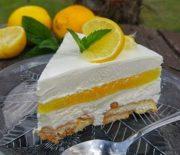Δροσερό γλυκό ψυγείου με άρωμα λεμονιού (Video)