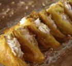 Μαντηλάκια σιροπιαστά με αφράτη κρέμα βανίλιας νηστίσιμα (Video )