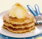 Pancakes μήλου με κανέλα