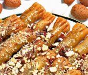 Δάχτυλα Κυριών το σιροπιαστό γλυκό της Κύπρου