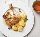 Κοτόπουλο μαριναρισμένο στο φούρνο με μέλι και εσπεριδοειδή