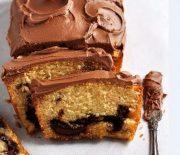 Σοκολατένιο κέικ μαρμπρέ με φουντούκια