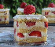Δροσερή πάστα φράουλα (Video)