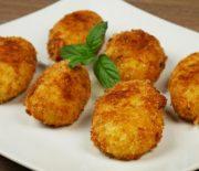 Κροκέτες πατάτας γεμιστές με κασέρι (Video)