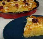 Γλυκιά πατσαβουρόπιτα σιροπιαστή της τεμπέλας (Video)