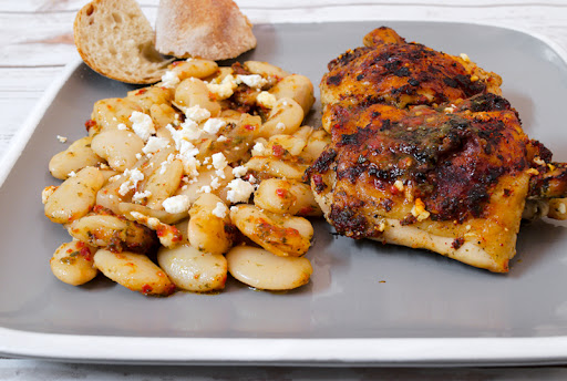 Γίγαντες με κοτόπουλο στο φούρνο