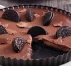 Τάρτα σοκολάτας με oreo με 4 μόνο υλικά
