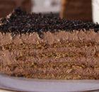 Τούρτα σοκολάτας ψυγείου με 5 υλικά νηστίσιμη (Video)