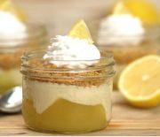 Cheesecakes με τέλεια κρέμα λεμονιού και μπισκότα (Video)