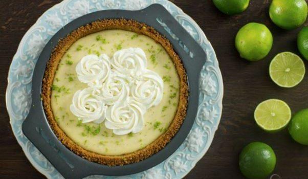 Τάρτα λάιμ με ζαχαρούχο γάλα πανεύκολη (Video)