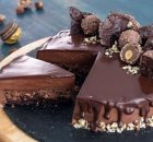 Τούρτα Ferrero Rocher με υπέροχη Μους Nutella (Video)