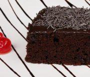 Σοκολατόπιτα με γλάσο ζαχαρούχου γάλακτος (Video)