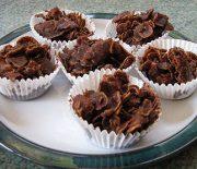 Σοκολατένια βραχάκια της στιγμής με 4 υλικά