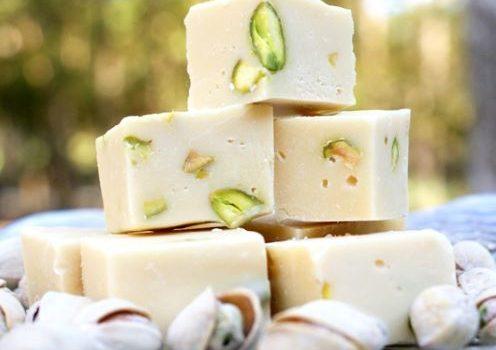 Γλυκό ψυγείου με φιστίκια Αιγίνης με 3 μόνο υλικά