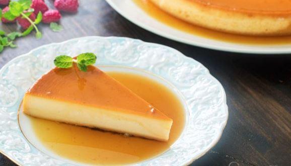 Φλάν μεταξένιο με τυρί κρέμα και ζαχαρούχο γάλα (Video)