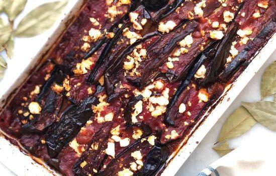 Μελιτζάνες Ιμάμ μπαϊλντί στο φούρνο
