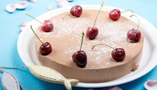 Σοκολατένια τούρτα ψυγείου με 4 υλικά
