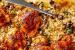 Μπούτια κοτόπουλου με αφράτο ρύζι και μανιτάρια στο φούρνο (Video)