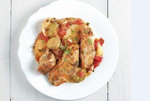 Κοτόπουλο παϊδάκια με μπριάμ