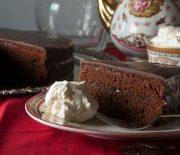 Κλασικό Βιεννέζικο κέικ σοκολάτας Sachertorte