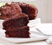 Kέικ τούρτα σοκολάτας με γλάσο