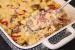 Σουφλέ ζυμαρικών με μανιτάρια και πιπεριές Φλωρίνης