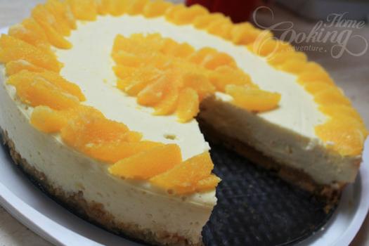 Cheesecake πορτοκάλι