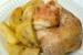 Κοτόπουλο μυρωδάτο με πατατούλες στο φούρνο