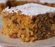 Κέικ καρότου νηστίσιμο (Video)