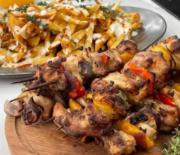 Κοντοσούβλι κοτόπουλο στο φούρνο