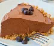 Σοκολατένιο βελούδινο cheesecake χωρίς ψήσιμο