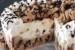 Τούρτα παγωτό με βάση σπιτικό μπισκότο cookies με σταγόνες σοκολάτας