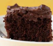 Κέικ σοκολάτας πορτοκαλιού με και φανταστική σοκολατένια γκανάζ