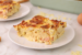 Σουφλέ αλλαντικών με ψωμί του τόστ και τυριά