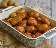 Πατάτες baby στο φούρνο